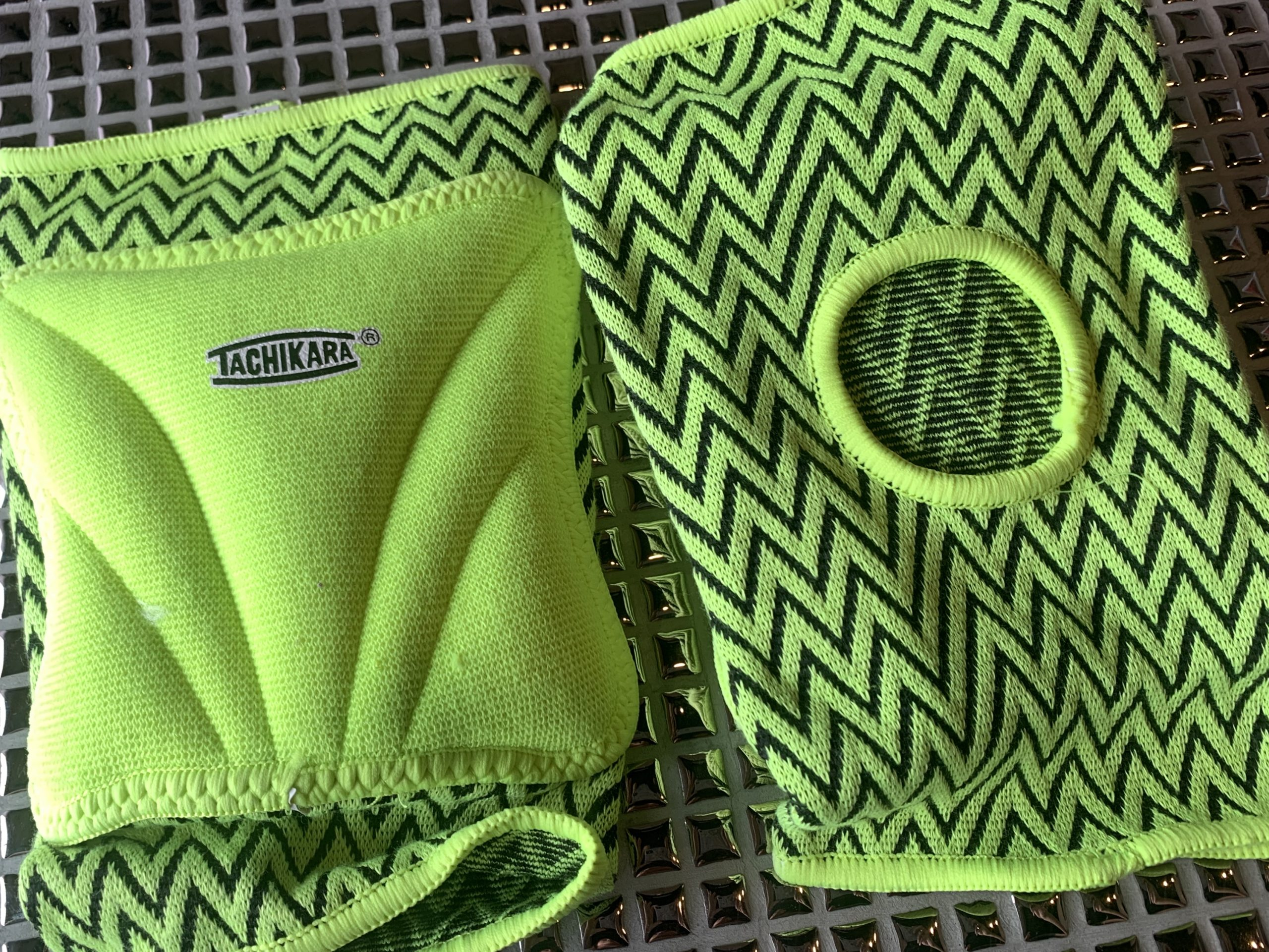 Lime Green Knee Pads