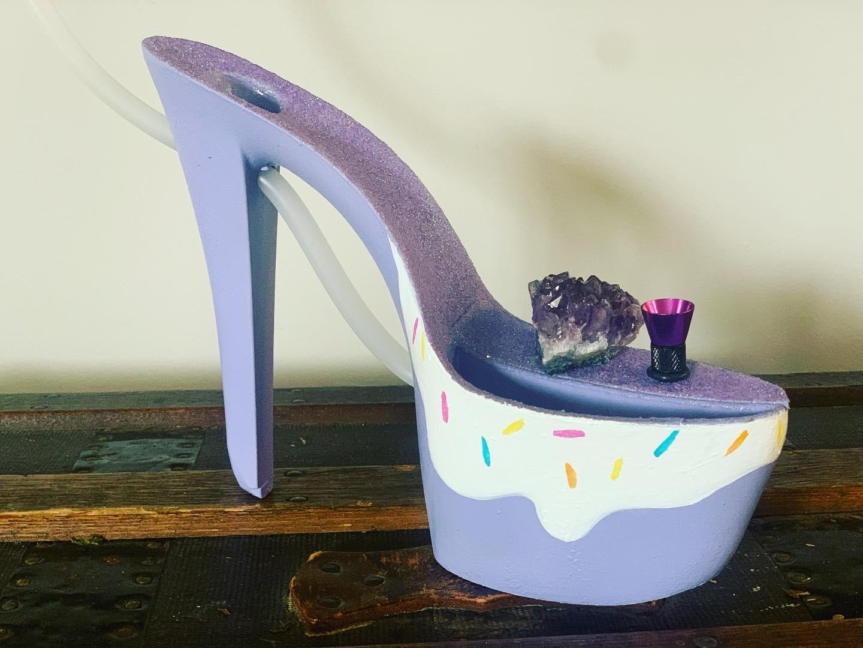 Purple Bong